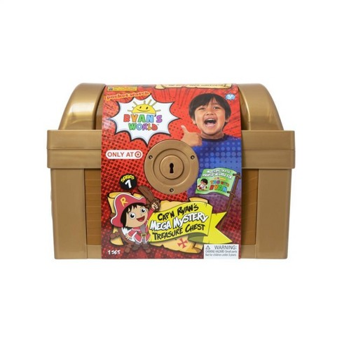 Ryan's World Mega Mystery Treasure Chest - image 1 of 4