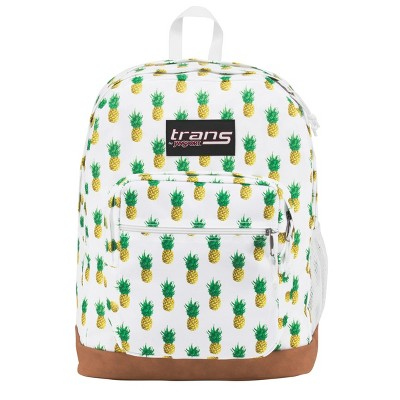 Trans by JanSport® Super Cool 17  Tropic Gold Pineapple Print Backpack - Black
