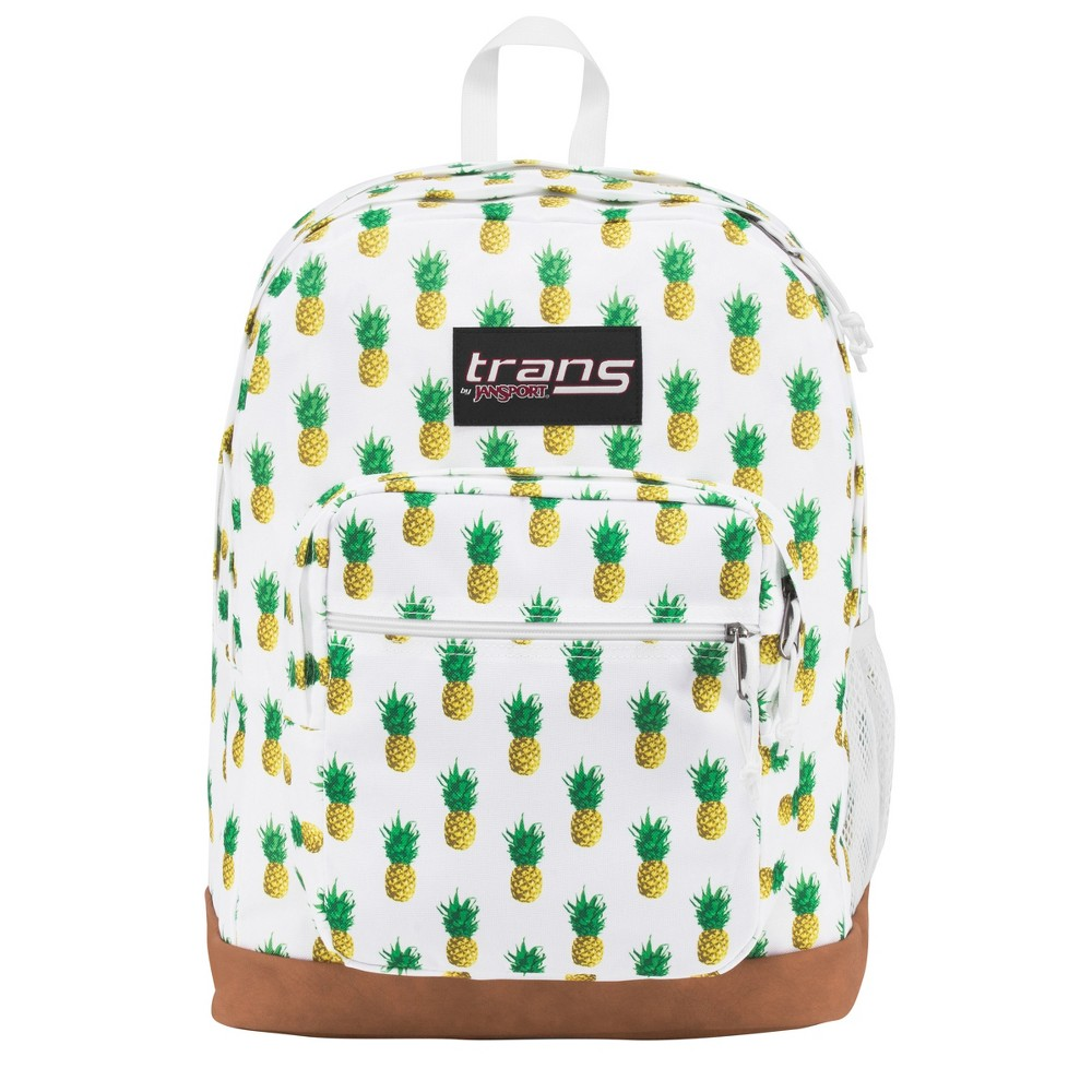 Best Price Trans By JanSport Super Cool 17 Tropic Gold Pineapple Print Backpack Black