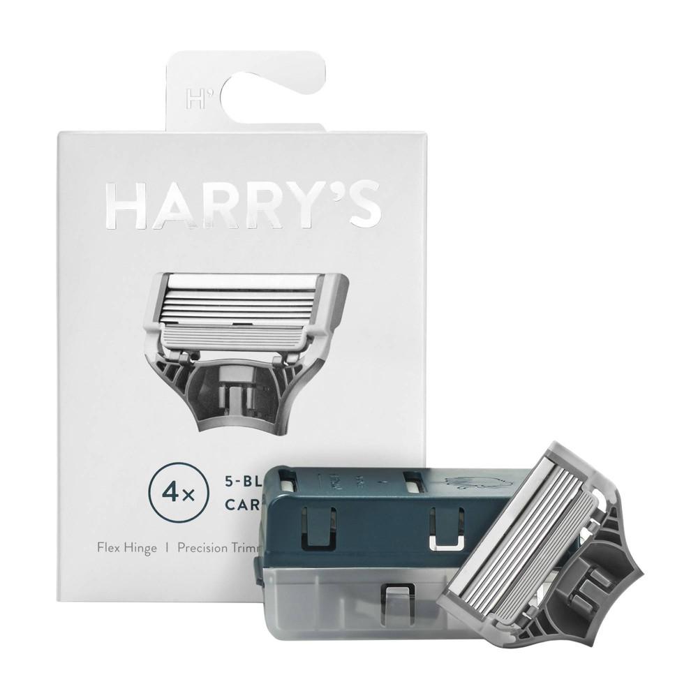 Image of Harry's Men's Blade Razor Refill Cartridges - 4ct