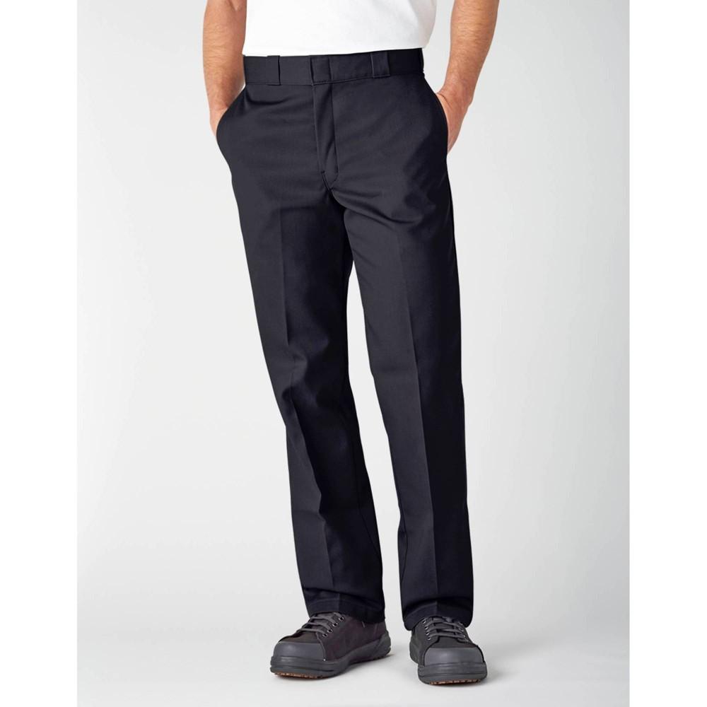 Dickies Men 39 S Big 38 Tall Original 874 Work Pants Black 48x30