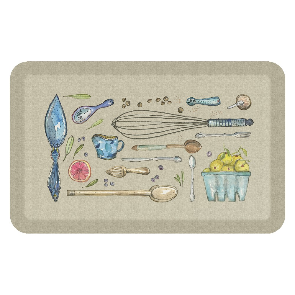 "Image of ""Floor Mat 1'8""""X2'8"""" - GelPro, Multi-Colored"""