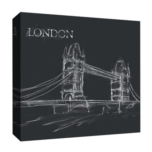 "London Decorative Canvas Wall Art 16""x16"" - PTM Images - image 1 of 1"