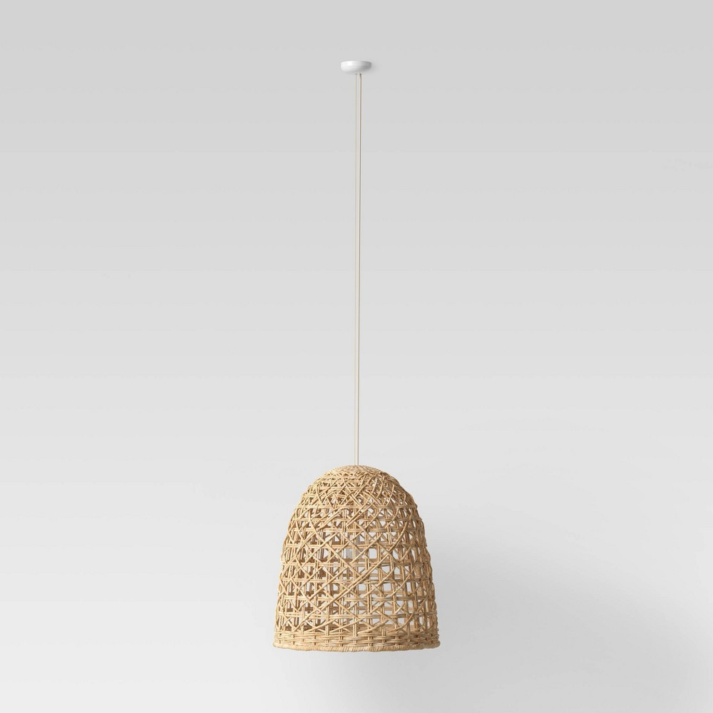 Image of Small Seagrass Light Pendant Light Brown (Includes Energy Efficient Light Bulb) - Opalhouse