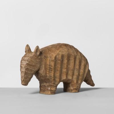 Wood Armadillo Figurine - Opalhouse™