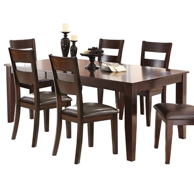 Tory Extendable Dining Table Espresso - Steve Silver Co.
