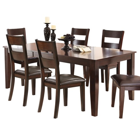 Tory Dining Table Espresso - Steve Silver