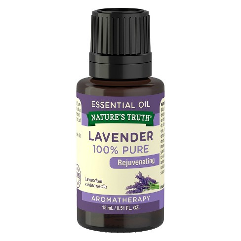 nature s truth lavender aromatherapy essential oil 15ml target