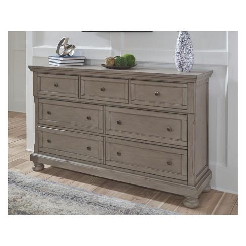 Lettner Dresser Light Gray Signature Design By Ashley