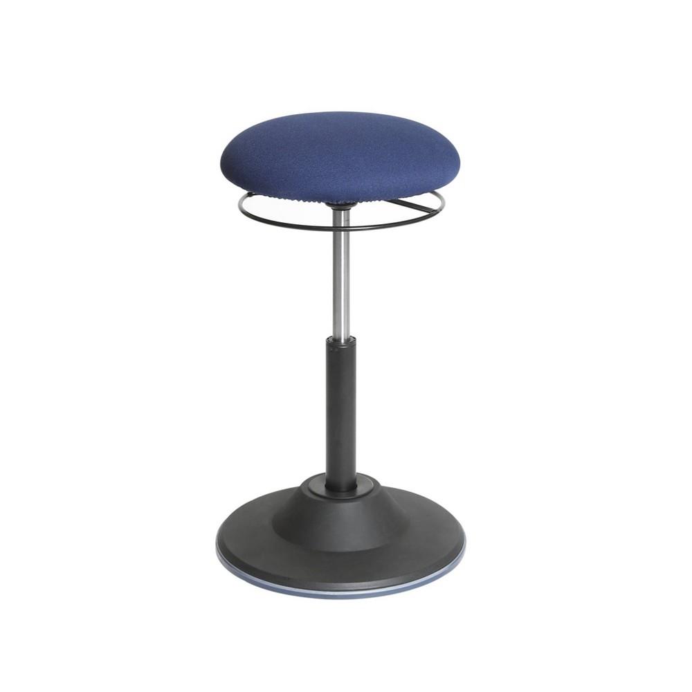 Image of Airlift Adjustable Ergonomic Active Balance Non - Slip Desk Stool Blue - Seville Classics