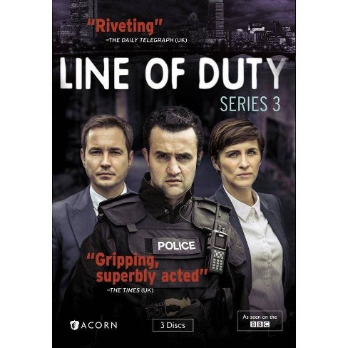 Line Of Duty: Series 3 (DVD) - image 1 of 1