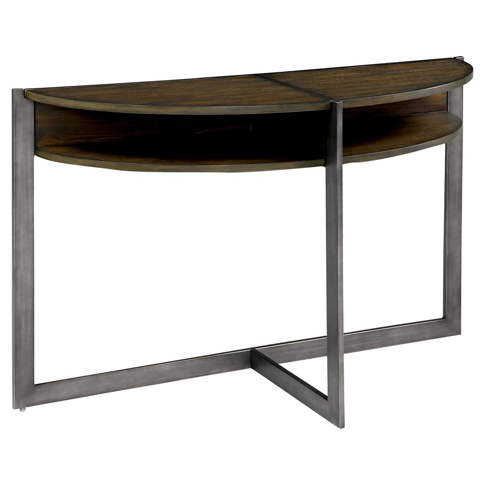 Sun & Pine Console Table Dark Brown