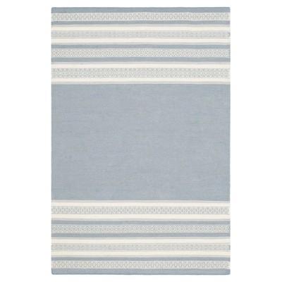 Porter Dhurrie Area Rug - Gray (4' X 6')- Safavieh®