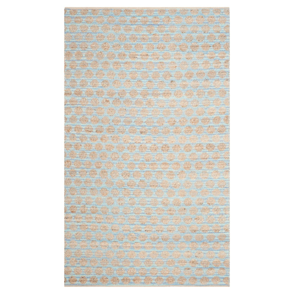 Caleb Area Rug - Blue/Natural (5'x8') - Safavieh
