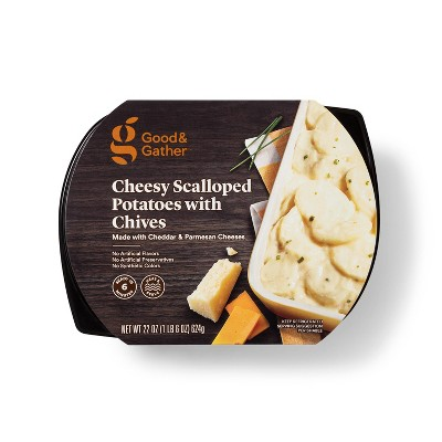 Vegetarian Cheesy Scalloped Potatoes with Chives - 22oz - Good & Gather™