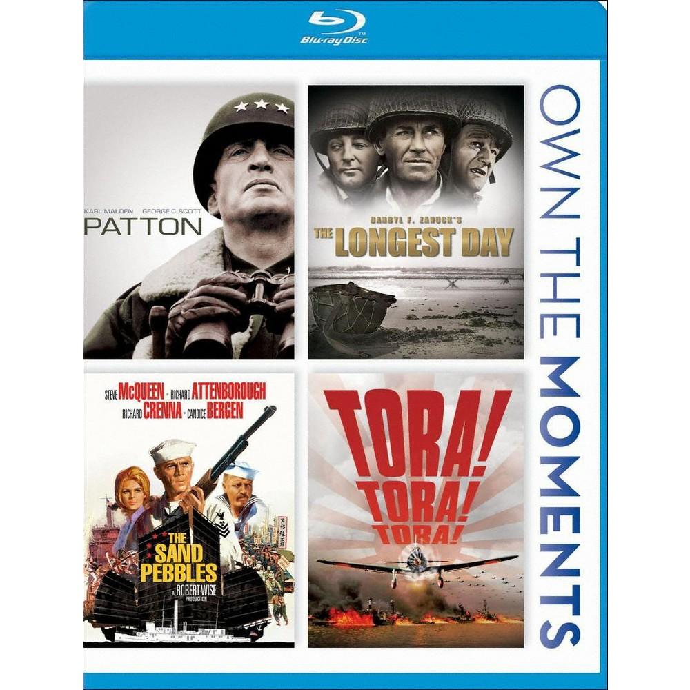 Patton Longest Day Sand Pebbles Tora Tora Blu Ray 2012