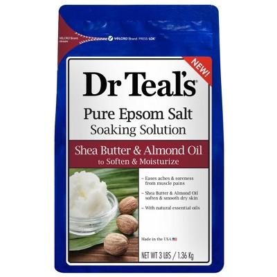 Dr Teal's Shea Butter & Almond Bath Soaks - 36oz