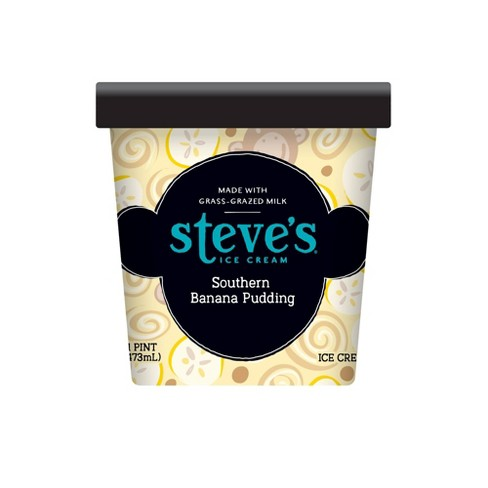 Steve's Ice Cream Southern Banana Pudding Ice Cream -16oz - image 1 of 3