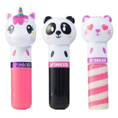 Lip Smacker Lippy Pal Lip Balm - Unicorn/Panda/Kitten - 3pk