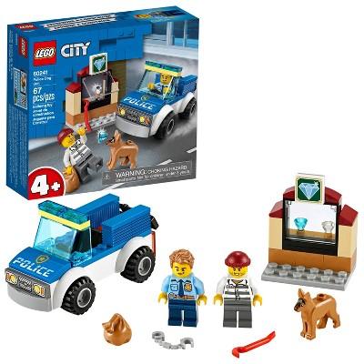 LEGO City Police Dog Unit Cool Building Set for Kids 60241