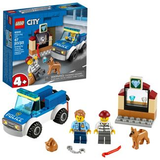 LEGO City Police Dog Unit Cool Building Set for Kids 60241