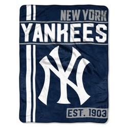 MLB New York Yankees Micro Fleece Throw Blanket
