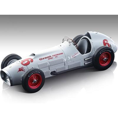 "1952 Ferrari 375 F1 Indy #6 White w/Red Wheels ""Indianapolis 500"" Ferrari Museum Ltd Ed 145 pcs 1/18 Model Car by Tecnomodel"