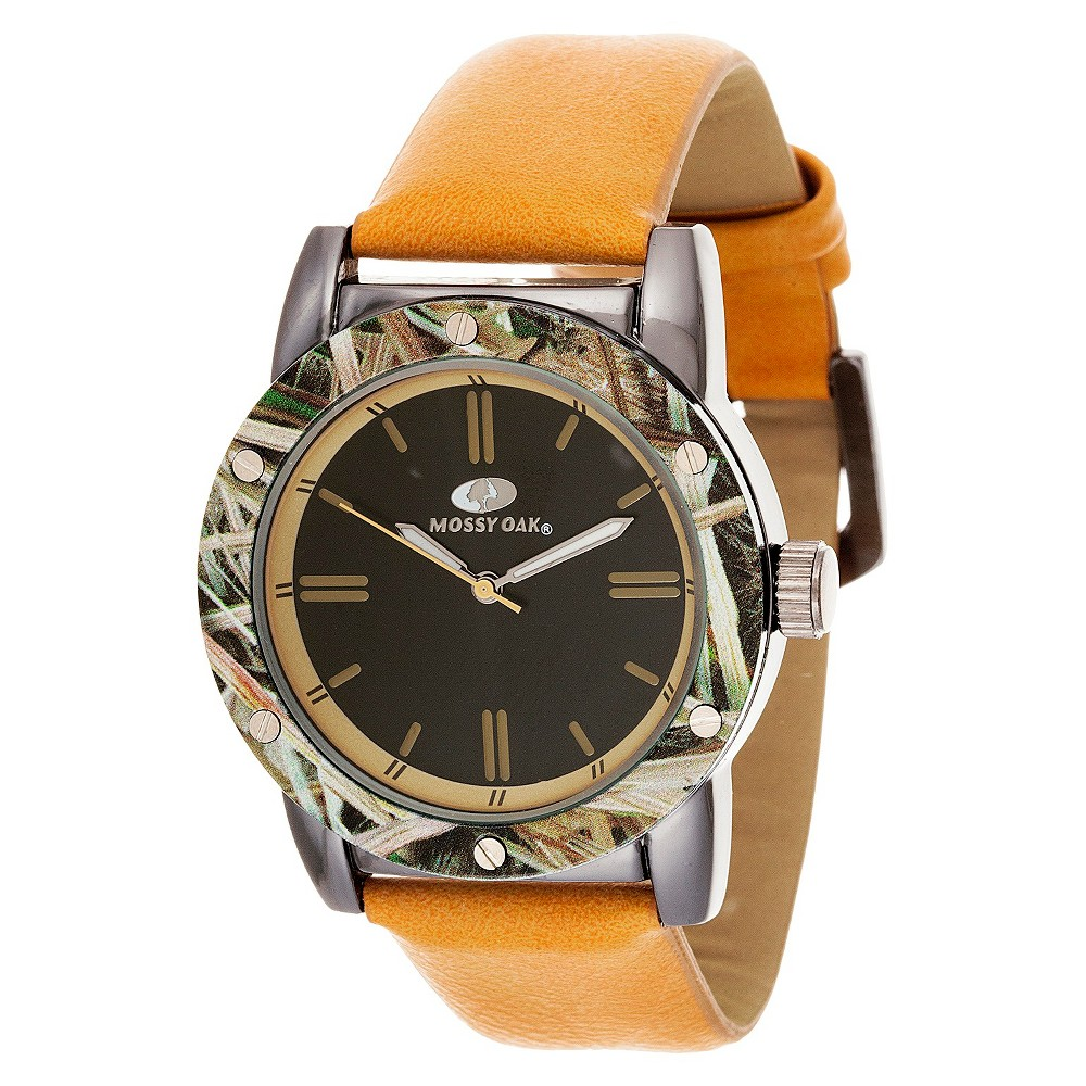 Men's Mossy Oak Analog Watch - Tan
