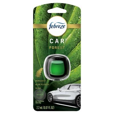 Febreze Car Odor-Eliminating Air Freshener Vent Clip - Forest - 1ct