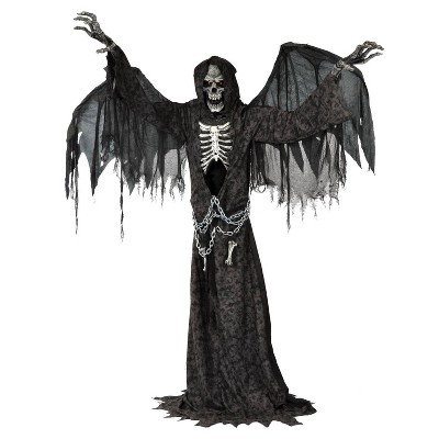 7ft Halloween Animated Life Size Angel of Death