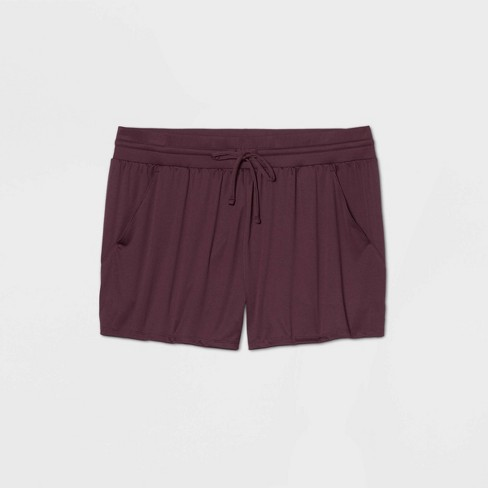 "Women's Essential Mid-Rise Knit Shorts 5"" - All in Motion™ - image 1 of 1"