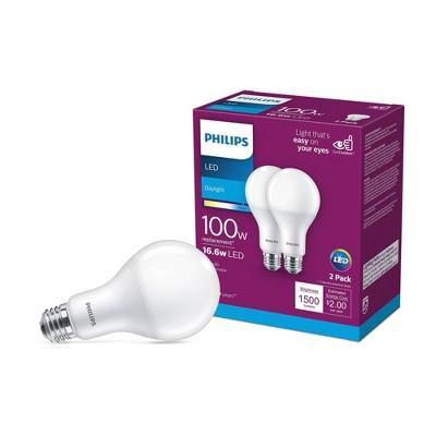 Philips Basic A21 100W E26 5000K LED Light Bub Day Light T20