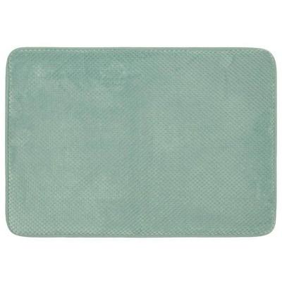 "24""x40"" Bubble Memory Foam Bath Rug Green - Threshold™"