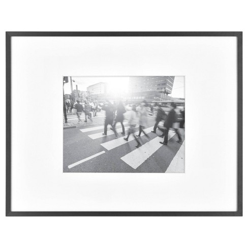 """8"""" x 10"""" Photo Thin Gallery Frame Black - Project 62™ - image 1 of 4"""