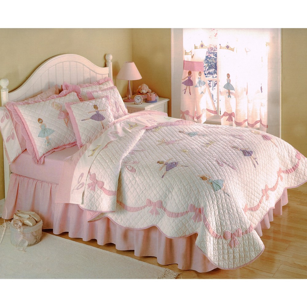Twin Ballet Lessons Quilt Set - My World, Multicolored