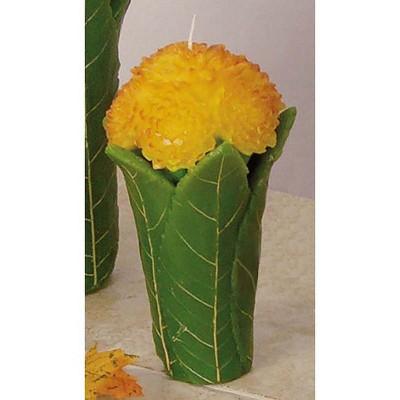 Gallerie II Orange Mum Bouquet Candle