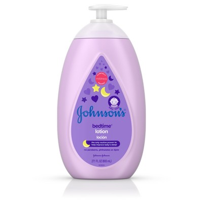 Baby Lotion: Johnson's Baby Bedtime