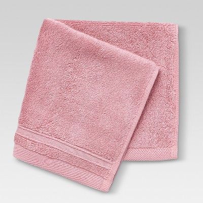 Performance Solid Washcloths Coral Reef - Threshold™