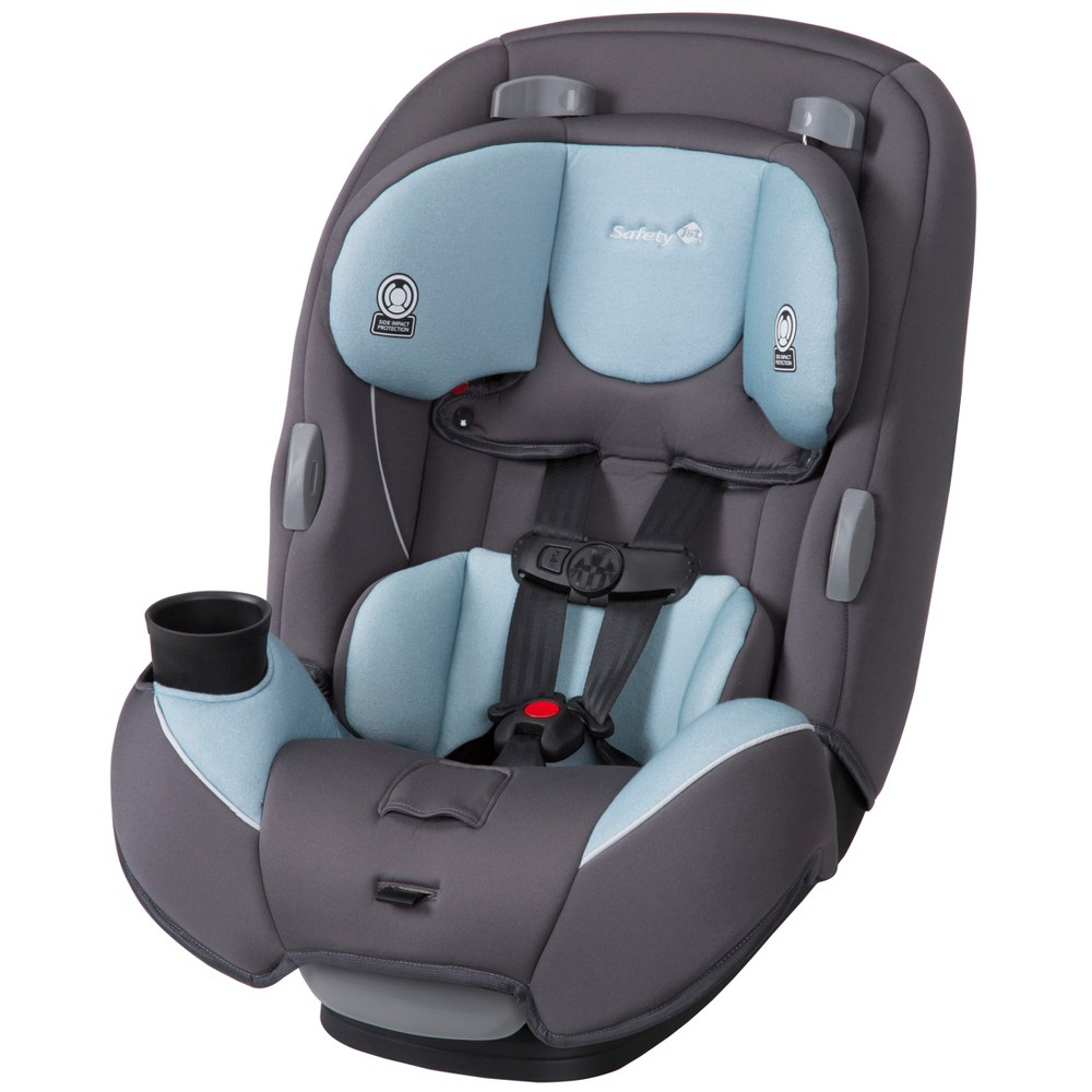 Image of Safety 1st Continuum 3-in-1 Convertible Car Seat - Stone Blue, Grey Blue