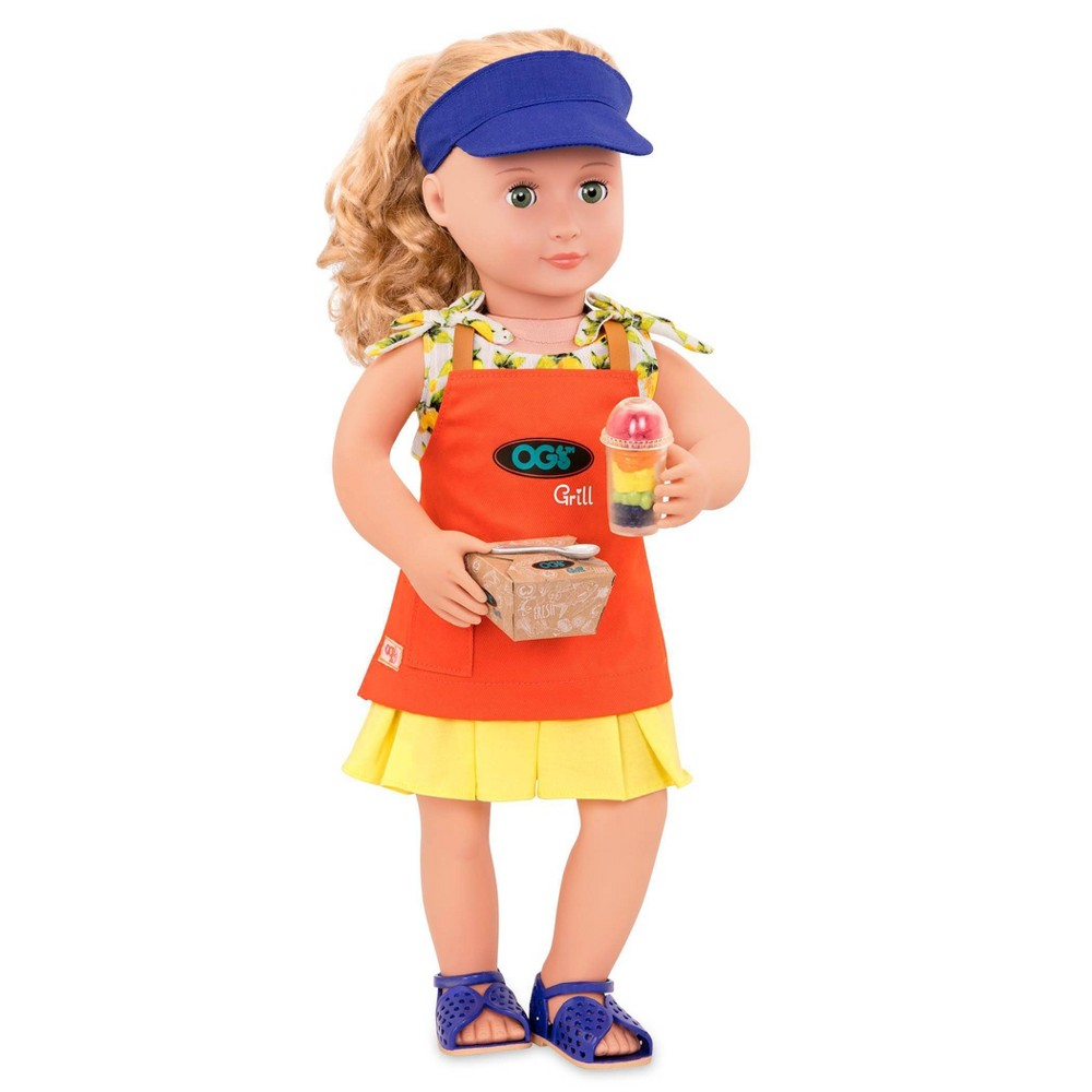 Our Generation Deluxe Food Truck Outfit for 18 Dolls - Dressed to Grill