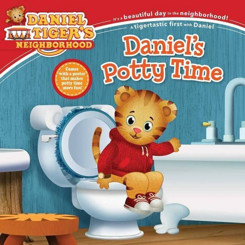 Daniel's Potty Time - (Daniel Tiger's Neighborhood) (Paperback) - image 1 of 1