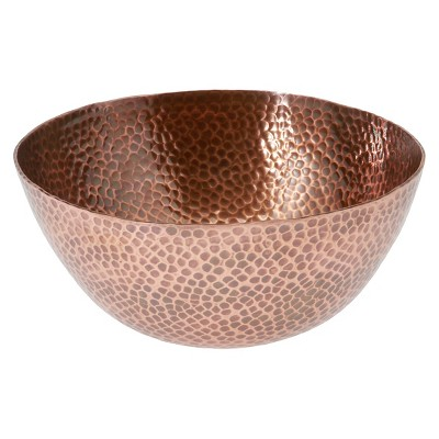 Thirstystone Hammered Copper Bowl - Large