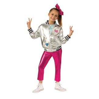 Girls' JoJo Siwa Pants/Jacket Halloween Costume L