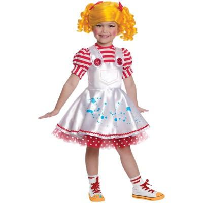 Lalaloopsy Deluxe Spot Spatter Splash Toddler/Child Costume