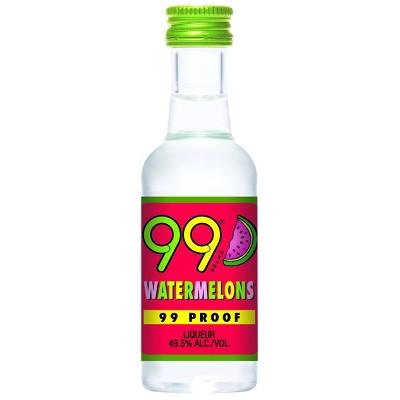 99 Watermelons Liqueur - 50ml Plastic Bottle