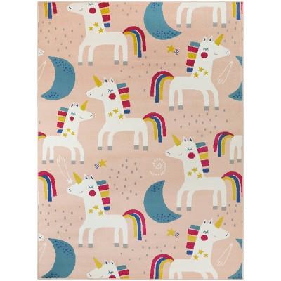 "4'1""x5'6"" Unicorn Pink Rug - Balta Rugs"