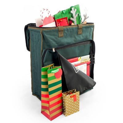 TreeKeeper Gift Bags and Tissue Paper Supplies Storage Bag