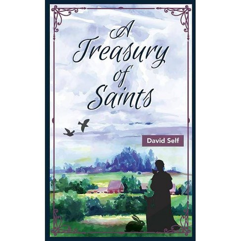 A Treasury of Saints - (Augsburg Treasuries) by  David Self (Hardcover) - image 1 of 1