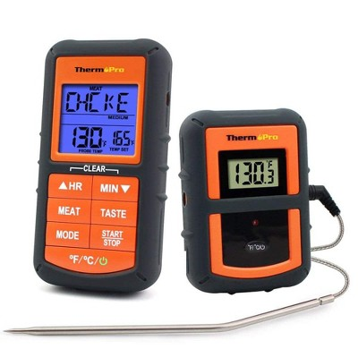 ThermoPro TP-07 Wireless BBQ Meat Thermometer for Grilling Smoker Oven Kitchen Turkey Remote Digital Cooking Food Grill Thermometer with Probe