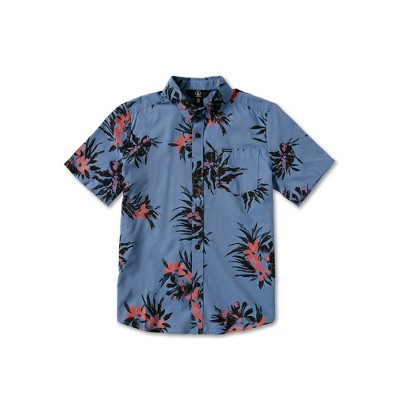 Volcom Boys Floral With Cheese Short Sleeve Tee